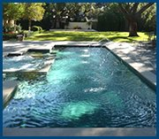 Brand New inground swimming pool installed and repaired in Dallas Texas by Select Pool Services