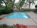 Inground Swimming Pool Custom Deck Renovation Frisco Tx