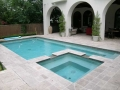 Custom Pool and Spa Deck Renovation Remodel Plano and Garland Texas