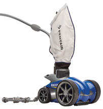 racer pressure fed robotic swimming pool cleaner for the dallas fort worth Texas area
